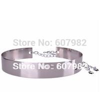 Belts For Women Metal Silver Belt Wide Chain Hip Female Belt Good Quality Width 4.5cm Length 71cm +40cm Chain Belts For Women