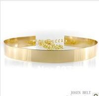 Women Belts Waist Gold Chain Belt Metal Gold Silver Color High Quality Width 3.5cm Length 73cm +36cm Chain Belts For Women