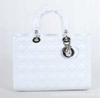 2013 new channel of famous brand designer handbags fashion women's five number of original goatskin ladies bag button 44551 gold
