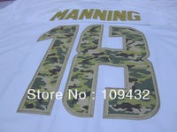 2014 New American Football  broncos #18 manning Salute to Service Jerseys white Game jersey