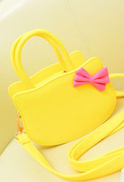 2013 russy cat fashion small bag one shoulder cross-body small bags bow women's handbag