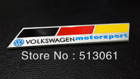 Emblems Badge Motor Sport Sticker Rear German Flag 3D For VW VOLKSWAGEN CC GTI Free Shipping High Quality Wholesale