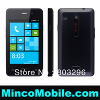 "3.5"" Capacitive Multi-Touch Screen Dual SIM Card H501 501 Android Phone SP8810 Cortex A5 1.0GHz CPU / 256M RAM / WIFI"