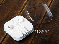 2013 New Newest EarPods Earphone Headphone Remote & Mic For Apple IPhone 5 5G Free Shipping