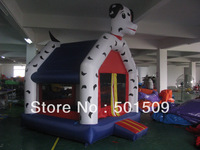 4mx4m Inflatable Bouncer spot dog spotty dog inflatable castle childrens/kids play, not include electric blower