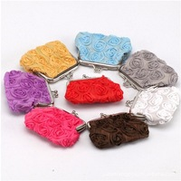 coloreful  flower  grain  graphics coin wallet 12pcs/lot with free shipping and gold bracelet