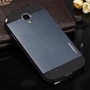 Роскошные мода Motomo металла чехол для I9500 Galaxy S iv, алюминиевый жесткий задняя крышка для Samsung S4 без коробку