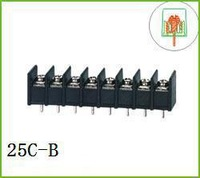 20pcs/lot Terminal block 25c 7.62mm 8P  Free Ship