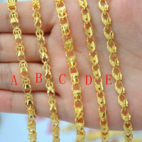 Gold bracelet Women gold bracelet 24k gold 999 fine gold fashion gold-filled accessories