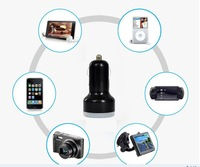 Wholesale Bulk Price, 20PCS x Dual USB 5V 2.1A Car Charger for Ipad for Iphone for Tablet PC, Mobile,GPS,White/Black Car Charger