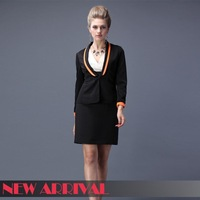 Women Blazer New 2013 Autumn -Summer Fashion Long Sleeve Casual Suit Jacket free shipping 108