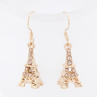 Min Order $10 Earrings female personality a tower earrings fashion sweet earring female all-match popular