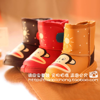 Two small 6 7 male female child snow shoes thickening warm shoes classic snow boots