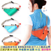 Fashion travel mobile phone storage all-match close-fitting storage Nylon waist pack sports shoulder bag B475