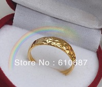 hot sell 24 k gold selling size adjustable Bestselling classic gold ring