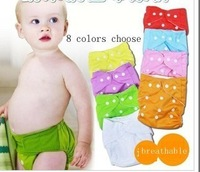 2013  free shipping 3 pcs diapers+9pcs liners=12pcs  Wholesale baby underwear diaper covers pettiskirt bloomers size adjustable
