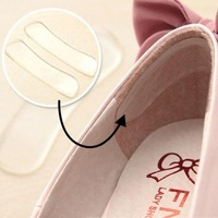 5 Pairs Silicone Back Heel Liner Gel Cushion Pads Insoles High Dance Shoes Grip Insole Arch Support Cushion