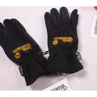 Outdoor fleece gloves slip-resistant looply windproof
