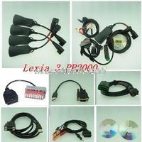 Lexia-3 Citroen Peugeot lexia3 Diagnostic Tool pp2000 lexia 3,lexia-3 diagbox free shipping