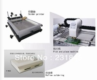 Production line-Desktop Pick And Place MachineTM240A&reflow OvenT962C&SMT printer;,Manufacturer--TM240A