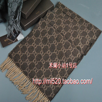 Autumn and winter cashmere wool quality business casual knitted tassel thermal long design male scarf muffler scarf