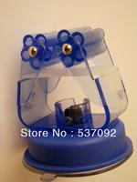 Fashion Design Super Suction Multifunctional Blue Cupule Elastic Clamp For Holding Bathroom Towel Bar/Mop/Clothes fork/Sprinkler