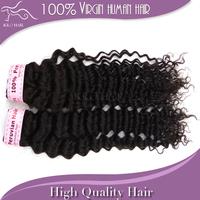 "Peruvian virgin curly hair Grade 5A deep wave 100% Unprocessed human hair weft 12""-28"" inch 2pcs lot dhl free shipping"