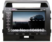 8 Inch Stereo Car TV DVD Player Radio GPS Navigation For Toyota Land Cruiser 2007-2012