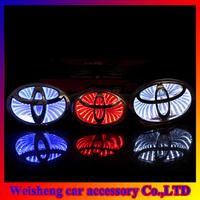 3D car logo light for Toyota car badge light auto led logo light auto emblem led lamp Free Shipping