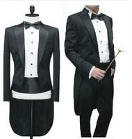 Fashion male tuxedo formal groom dress man wedding  groom suit 4pcs set custom