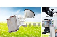 500 Piece 360 Rotary Universal Car Holder Stand Car Mount Holder for Cell Phone GPS PDA with Dual Clip