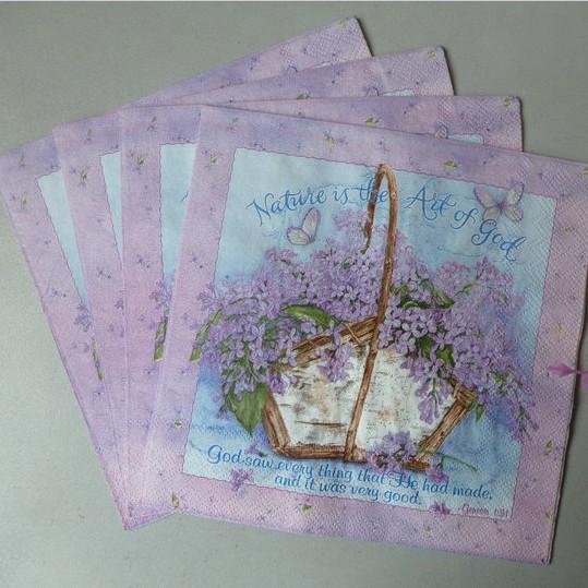 Online kopen wholesale paarse servetten uit china paarse servetten groothandel - Decoratie schilderij wc ...