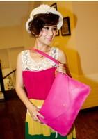 2013 women's handbag all-match knitted handbag strap decoration women's bag PU bags messenger bag