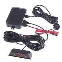 K398 Car LED Backup Reverse Radar Kit with 4 Sensors