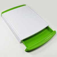 food grade Colored plastic cutting board /pp chopping blocks /kitchen drawer cut board /novelty households BPA free