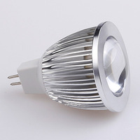 20pcs 7W  MR16 12V White/Warm White COB LED Bulb Lamp Lights Spotlight For Home Free Shipping
