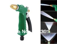 Free shipping + New 2014 Car Wash Equipment High Pressure Water Gun Sprayer (Green)