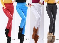 Hot Sale Sexy Slim Down Leggings Woman Down Pants Plus Size Double Faced Down Cotton Padded Trousers Women PT-065