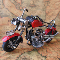 Vintage model home decoration birthday gift boys motorcycle canducum