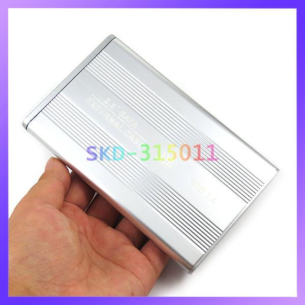 Aluminum Metal 2.5 Inch SATA External Case USB 3.0 HDD Enclosure Box(China (Mainland))
