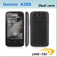 Original Lenovo A269 MTK6572 Dual core Android smartphone 3.5Inch Capacitive touch screen Gsm Wcdma 3G cell phone unlocked -11