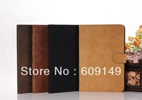 100pcs/lot Free shipping 4colours New arrival Restoring ancient leather cover case for ipad mini 2 cover case for ipad mini