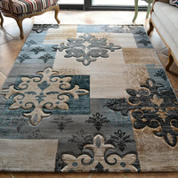 Brief modern living room coffee table carpet fashion bed rug