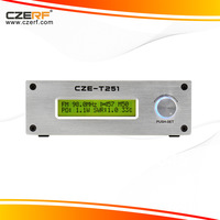 Free Shipping CZE-T251 Broadcast Radio 25w FM Transmitter 76MHz to 108MHz Adjustable