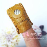 Freeshipping.Soft sheepskin thumbscrews quilting patchwork poke fun auxiliary tools