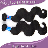 "Virgin Indian hair extensions 100% unprocessed human Body wave 12""-34"" natural color DHL free shipping Mixed lengths 2pcs/lot"