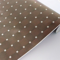 50 meters wallpaper bedroom wall balcony coffee mosaic square grid