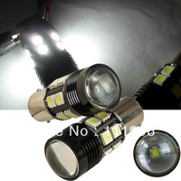 Freeshipping 2pcs 12V Super Bright 1156 BA15S CREE R5 12 SMD 5050 LED Car Reverse Turn Brake Tail Light Bulb Lamp #OM1