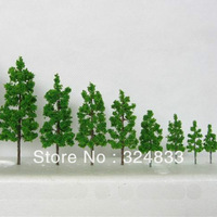 100pcs H :32mm  Manufacturer 1.18inch Scale Train Layout Set Model Scale Wire Trees in size 30/10