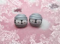 Handmade polymer clay cartoon stud earring personalized stud earring